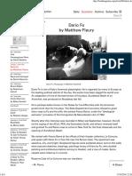 BOMB Magazine — Dario Fo by Matthew Fleury