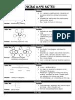 thinking maps notes - teachers