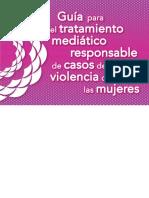Guia Tratamiento Mediático Responsable Violencia Contra Mujeres PDF