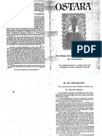 Liebenfels Joerg Lanz Von - Ostara Nr. 01 - Die Ostara Und Das Reich Der Blonden (1930, 15 Doppels., Scan, Fraktur)