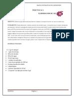 practica n° 1 ELABORACION DE GEL ANTIBACTERIAL