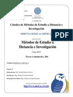 Orientacion Metodos de Estudio. c.055