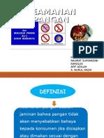 HACCP keamanan pangan