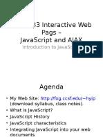01 Introduction Js