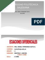 Unidad1 Ecuaciones Diferenciales