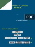 Introducción a la Literatura Medieval