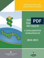 PANAMA - Politica Nacional de Salud