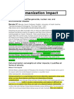 Dehumanization Impact