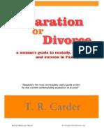 Separation or Divorce