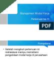 11-Manajemen Modal Kerja-20150106.ppt