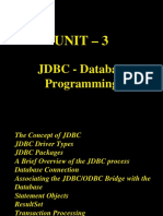 CS561 Unit 3 DataBaseProgramming