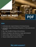 Economics of the Printing Press