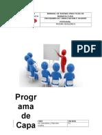 Programa de Capacitacion e Higiene Personal