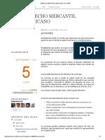 Derecho Mercantil Mexicano_ Acciones