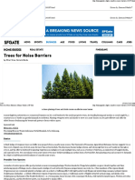 Trees for Noise Barriers _ Home Guides _ SF Gate