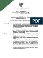 KepmenPan 22 Tahun 2002 - Jabatan Fungsional Inspektur Tambang Dan Angka Kreditnya