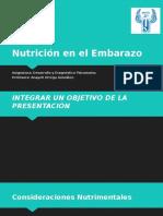 Nutrición en El Embarazo M