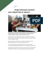 Empat Warga Indonesia Sandera Abu Sayyaf Tiba Di Jakarta