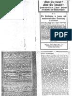 Liebenfels Joerg Lanz Von - Ostara Nr. 76 - Die Prostitution in Frauen- Und Mannesrechtlicher Beurteilung (1914, 10 Doppels., Scan, Fraktur)