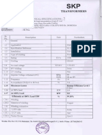 Technical Specification Drawing