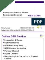 Presentasi Gsm Cdma (Saniy Ricki)