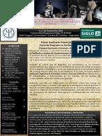 Gacetilla 1º Seminario Internacional Sobre Perfilacion y Analisis Del Comportamiento Criminal