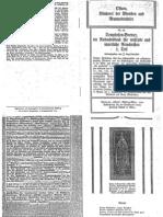 Liebenfels Joerg Lanz Von - Ostara Nr. 82 - Brevier Ein Andachtsbuch Fuer Wissende Und Innerliche A Rio Christen (1915, 10 Doppels., Scan, Fraktur)