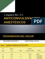 Anticonvulsivantes y Anestesicos