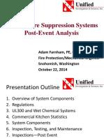 Adam Farnham - Kitchen Suppression Systems