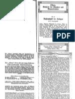 Liebenfels, Joerg Lanz Von - Ostara Nr. 89 - Rassenphsyik Der Heiligen (1917, 11 Doppels., Scan, Fraktur)