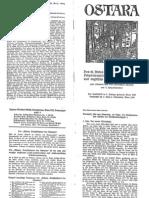 Liebenfels Joerg Lanz Von - Ostara Nr. 90 - Des Heiligen Bernhard Von Clairvaux Lobpreis Auf Die Neue Tempelritterschaft (1929, 16 Doppels., Scan, Fraktur)
