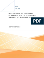 Water Use in Thermal Power Plants Equipped With CO2 Capture Systems