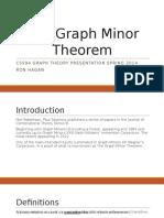 The Graph Minor Theorem