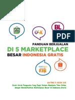 Panduan Berjualan Di 5 Marketplace Di Indonesia Gratis Goukm.id.Docx