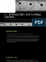 1 – Introduction and Getting Started