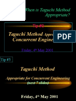 Why Taguchi Method Tip 3