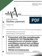 Sanitary Pipework - Code