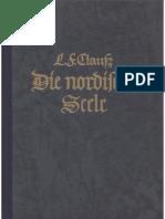 Clauss, Ludwig - Die Nordische Seele (1940, 196 S., Scan, Fraktur)