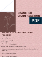Kinetics of Branched Chain Reactions