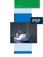 Monografia de Analisis Comparativo de resistencia al avance de buque pesquero