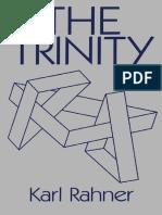Rahner - The Trinity