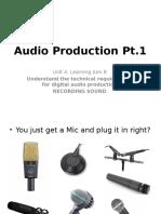 Audio Production 1