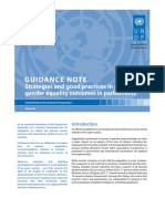 GUIDANCE NOTE Strategies and Good Practices in Promoting Gender Equality Outcomes in Parliaments_web