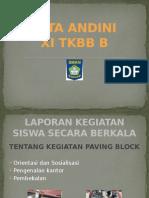 Dita Andini Paving Block