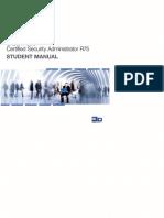CCSA R75 Manual