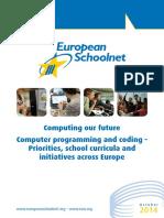 Coding Initiative Report-European Schoolnet-October2014