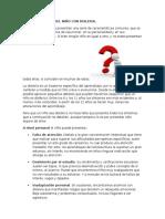 Características Del Niño Con Dislexia