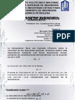 Cinética 2PM51 Ecuación de Arrhenius