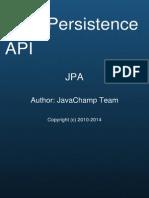 Java Persistence API JPA Exam