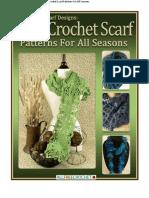 Crochet Scarf Designs Cute Crochet Scarf Patterns (1).pdf